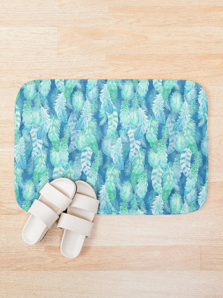 Alternate view of Feather Cover Bath Mat