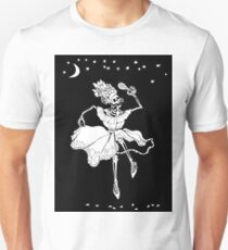 Day of the Dead Skeleton Lady dancing with Maraca T-Shirt