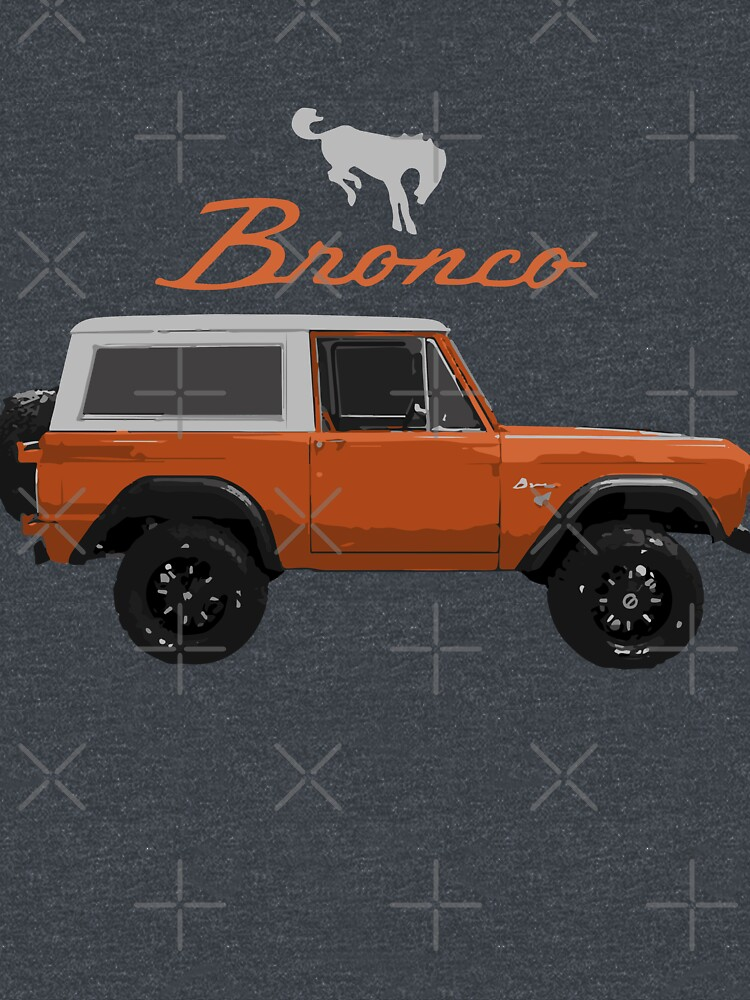 Vintage 1974 Ford Bronco by FromThe8Tees