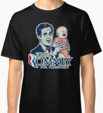 Zombie Romney For President Classic T-Shirt