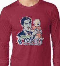 Zombie Romney For President Long Sleeve T-Shirt