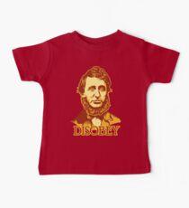 Henry David Thoreau Disobey Baby Tee
