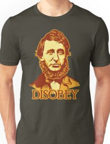 Henry David Thoreau Disobey T-Shirt