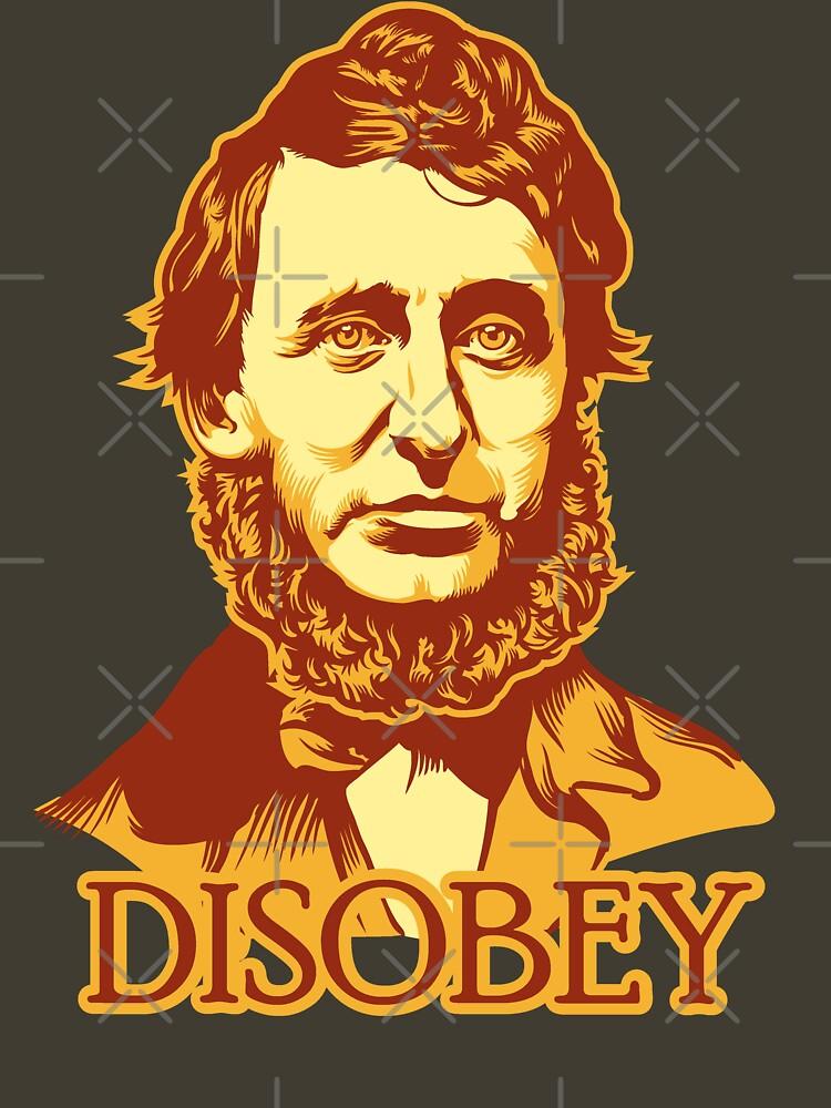 Henry David Thoreau Disobey | Unisex T-Shirt