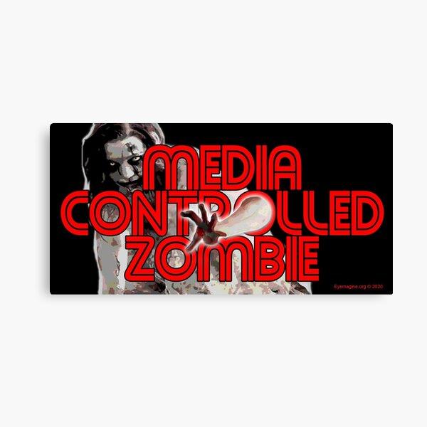 Media Zombies Canvas Print