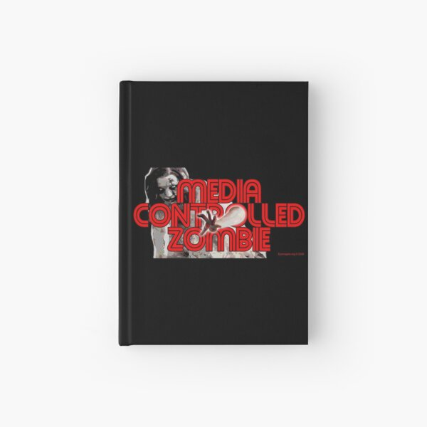 Media Zombies Hardcover Journal