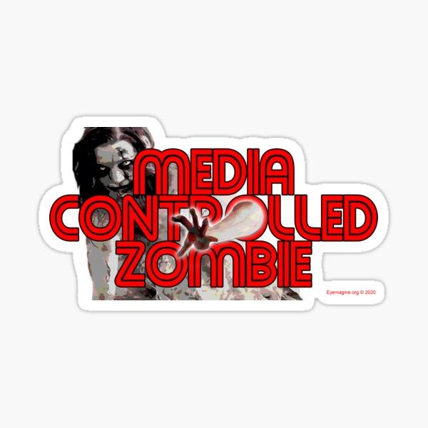 Media Zombies Sticker
