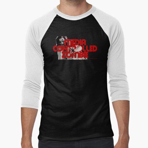 Media Zombies Baseball ¾ Sleeve T-Shirt