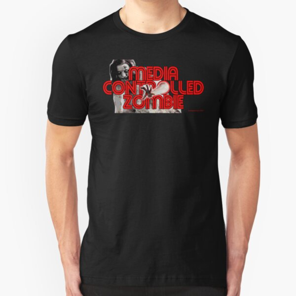 Media Zombies Slim Fit T-Shirt