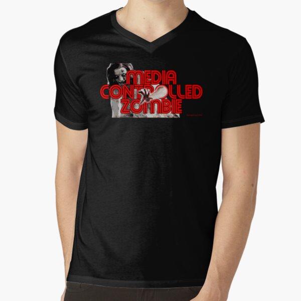 Media Zombies V-Neck T-Shirt