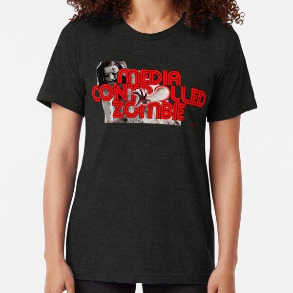 Media Zombies Tri-blend T-Shirt