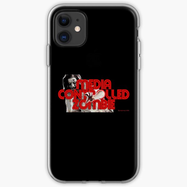 Media Zombies iPhone Soft Case