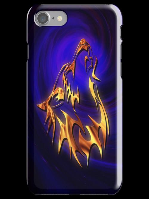 Howl - iPhone Case by John Edwards