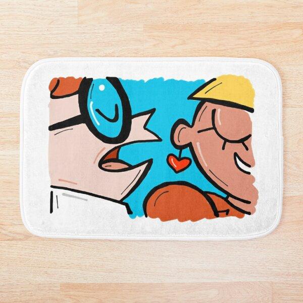 Dexter Meme - Say It Again with that Accent! Bath Mat