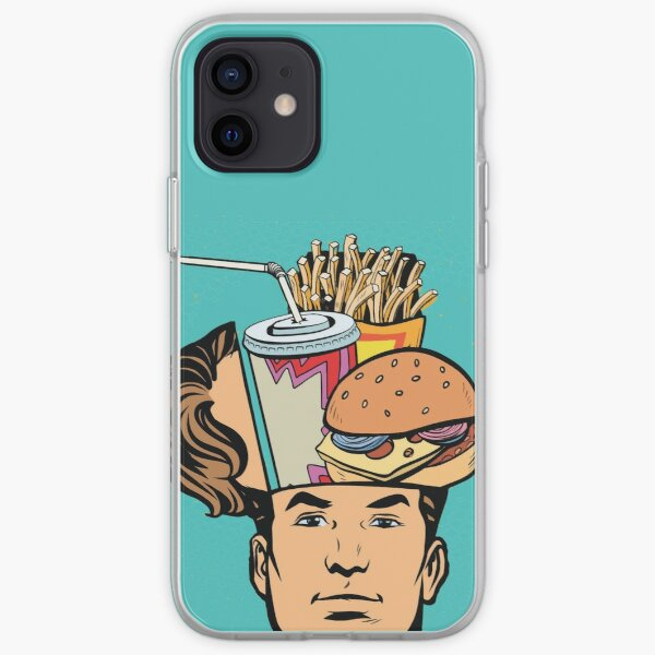 Junkfood - Fast food lover iPhone Soft Case