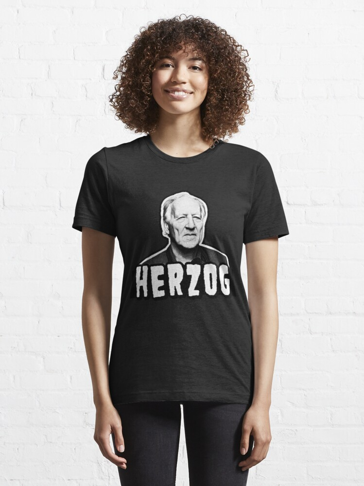 Alternate view of Herzog, International Filmmaker Essential T-Shirt