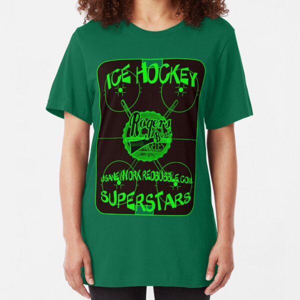 ice hockey superStars by rogers bros Slim Fit T-Shirt
