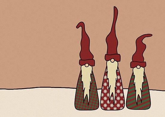 Three Wise Elves by Lee Leplaw Deichmann