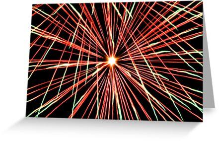 Explosive Colour 2 - Closeup by Richard Heath