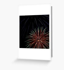 Explosive Colour 3 Greeting Card
