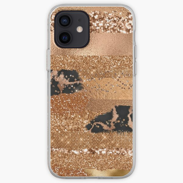 Copper Glamour  iPhone Soft Case