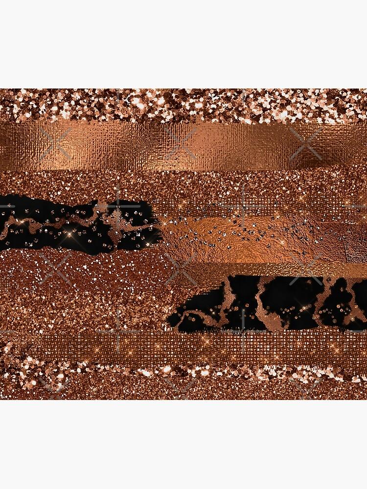 Dark Copper Glamour  by MysticMarble