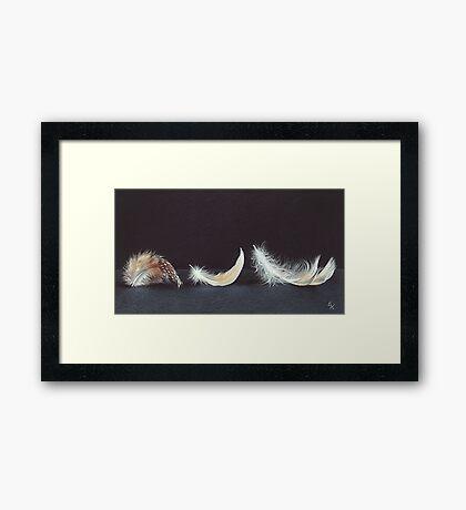 """Three wishes"" Framed Print"
