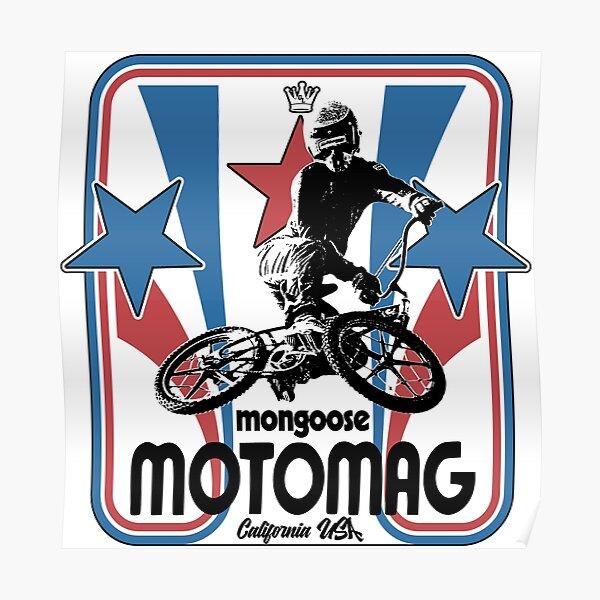Old School BMX Poster