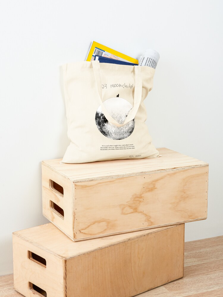 Alternate view of RM Mono. - Moonchild  Tote Bag