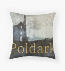 Poldark Throw Pillow