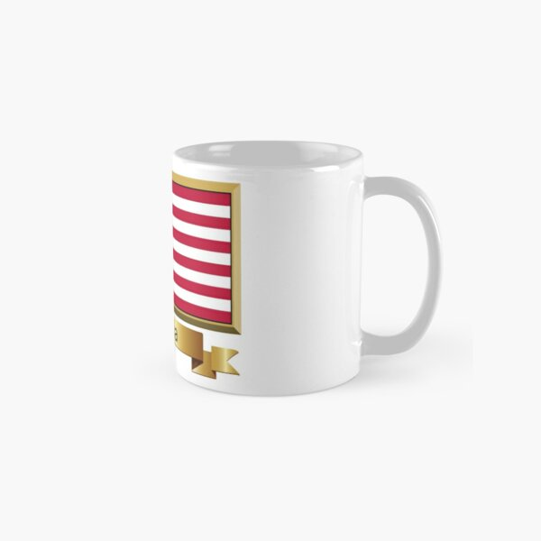 Liberia Flag Stickers, Gifts and Products - Named Classic Mug