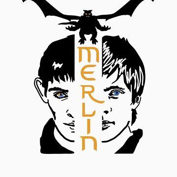 Merlin by plasticdoughnut