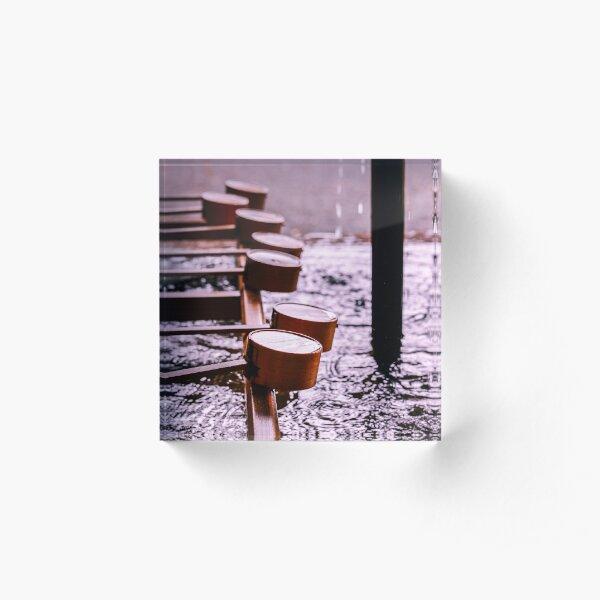 Hishaku & Temizu-ya Bloc acrylique