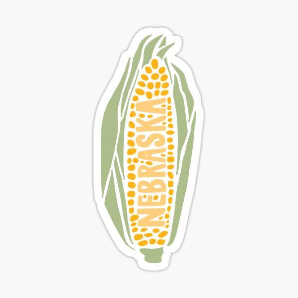 Nebraska Corn Sticker