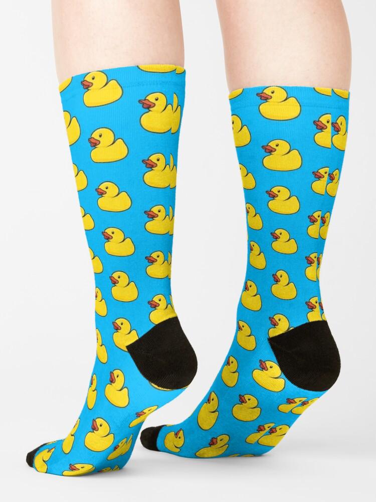Alternate view of Rubber Duck Socks