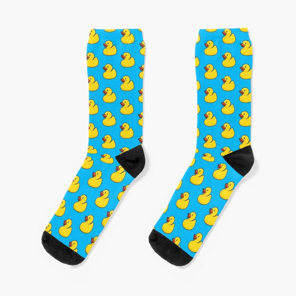 Rubber Duck Socks