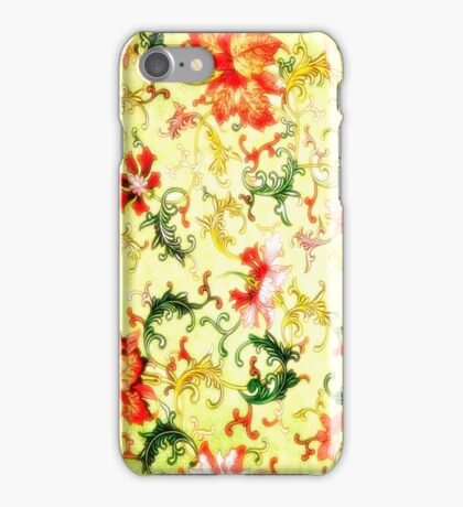 SWEET BELLA - YELLOW iPhone Case/Skin