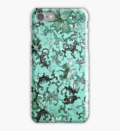 SWEET BELLA - TEAL iPhone Case/Skin