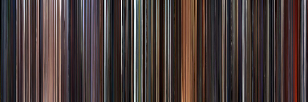 Moviebarcode: Star Wars: Prequel Trilogy (1999-2005) by moviebarcode