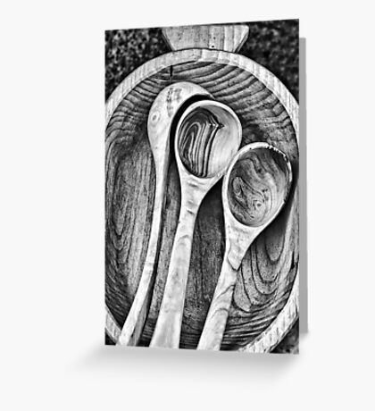 Wooden ladles Greeting Card