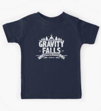 Camp Gravity Falls (worn look) Kids Tee