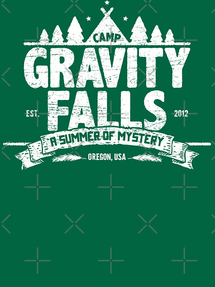 Camp Gravity Falls (worn look) | Unisex T-Shirt