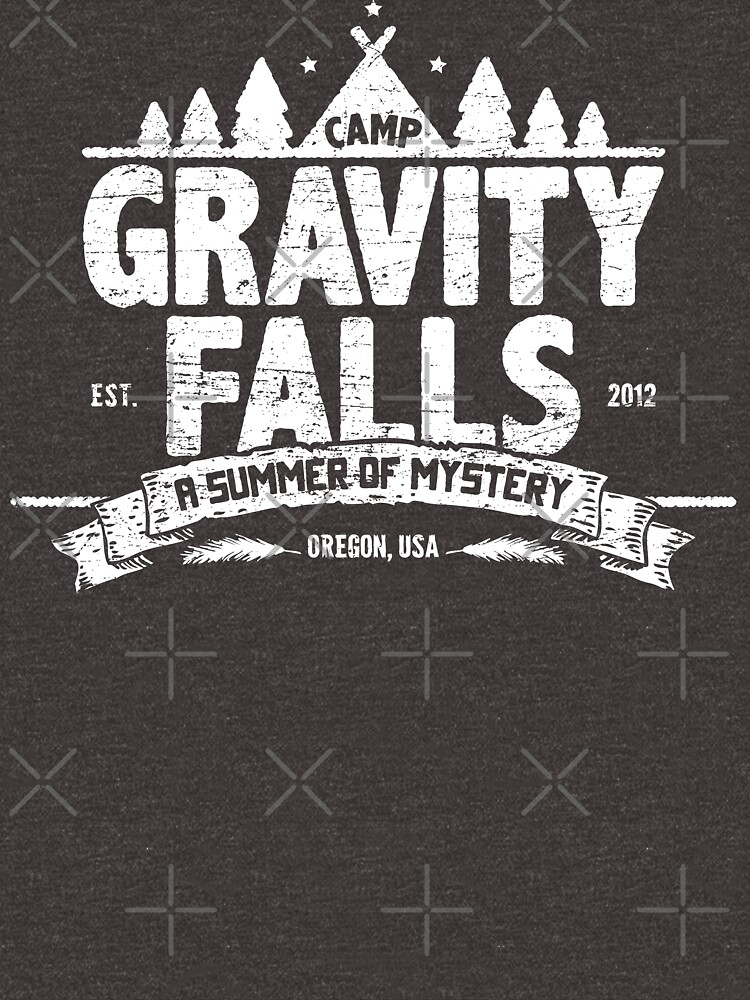 Camp Gravity Falls (worn look) by KRDesign