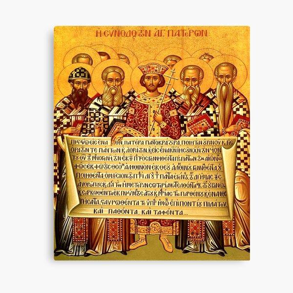 The Nicene Creed Icon Canvas Print