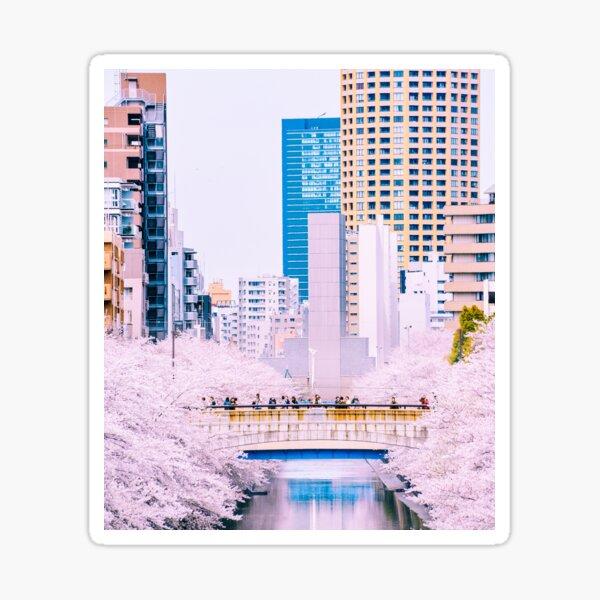 Tokyo - Douceur et béton Sticker