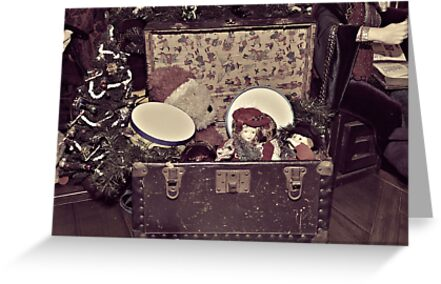 Santa's Toy Chest by Glenna Walker