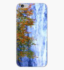 autumn waterfall 1 iPhone Case