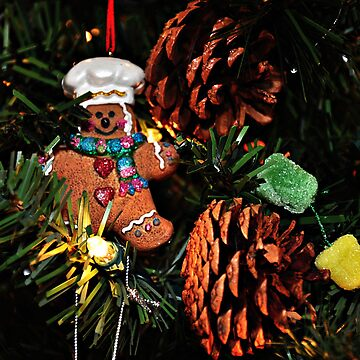 Gingerbread Man & Gumdrops by iluvmyragdolls