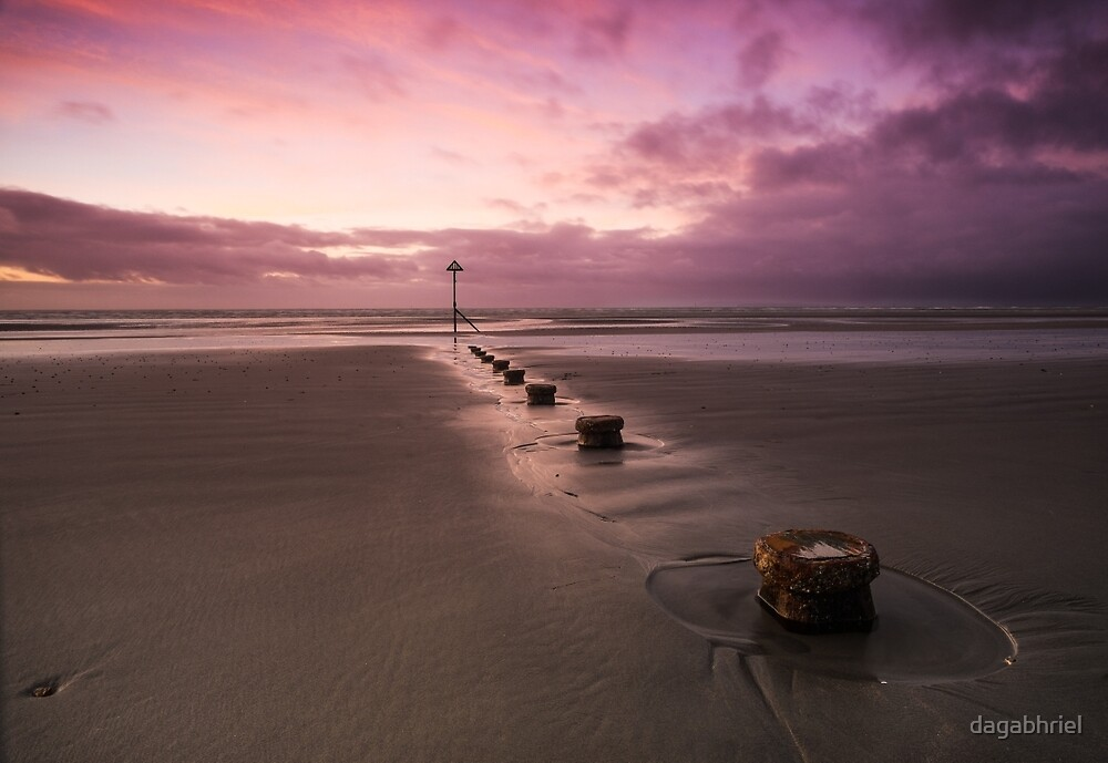 Wittering at low tide by dagabhriel