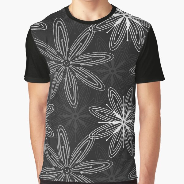 Mandala Swirl Collection Floral Seamless Surface Pattern Graphic T-Shirt
